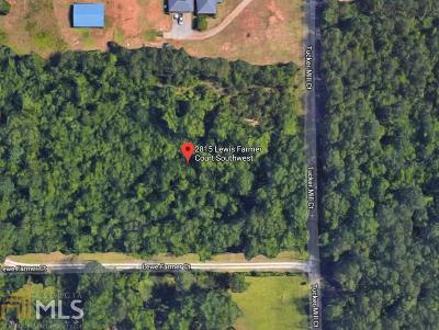 Conyers Residential Lots & Land Under Contract: 2815 Lewis Farmer Ct