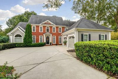 Fulton County Single Family Home Back On Market: 205 Courtyard Pl