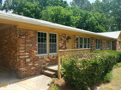 Mableton Single Family Home Under Contract: 1725 Dickerson Dr