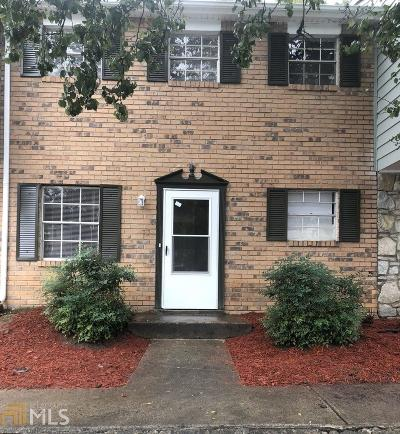 Union City Condo/Townhouse Under Contract: 4701 Flat Shoals Rd #45F