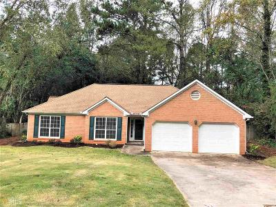 Peachtree City Single Family Home Under Contract: 831 Bedford Park