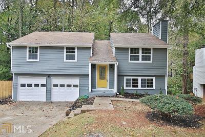 Roswell Single Family Home Under Contract: 510 Hembree Forest Cir
