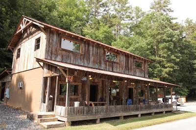 Rabun County Commercial For Sale: 5628 Lake Rabun Rd