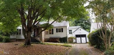 Decatur Single Family Home For Sale: 1767 Coventry Rd