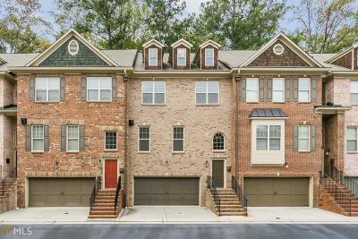 Brookhaven Condo/Townhouse For Sale: 1544 Donaldson Park Dr
