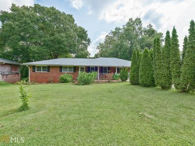 Lilburn Single Family Home Under Contract: 382 White Oak Dr