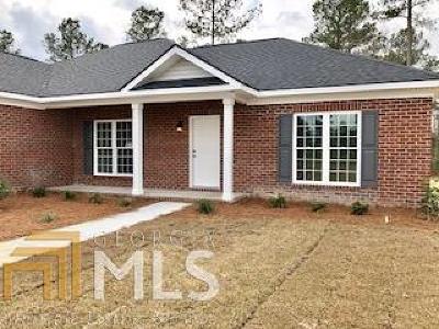 Statesboro Single Family Home For Sale: 108 Weatherstone Way #54