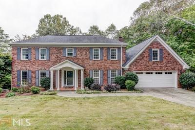 Roswell Single Family Home Under Contract: 485 Persimmon Ln