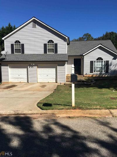 Rex Single Family Home Under Contract: 7281 New Dale Rd
