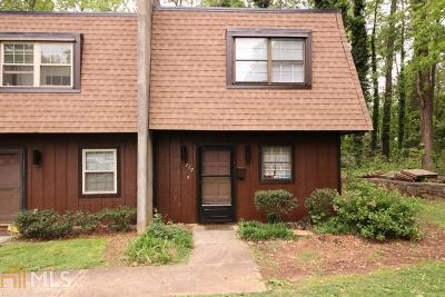 Marietta Condo/Townhouse Under Contract: 715 Cedar Pt Ct
