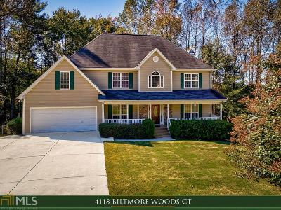 Buford Single Family Home For Sale: 4118 Biltmore Woods Ct