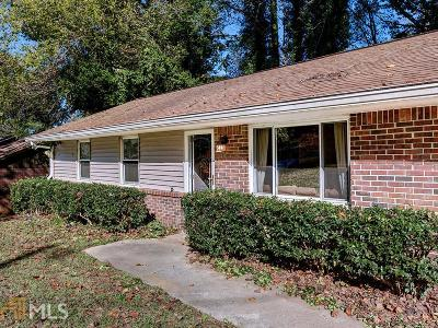 Marietta Single Family Home For Sale: 1192 Woodleigh