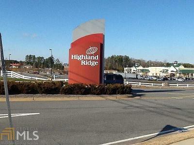 Canton, Woodstock, Cartersville, Alpharetta Commercial For Sale: Commerce Blvd