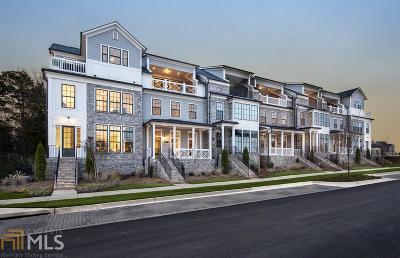 Alpharetta Condo/Townhouse For Sale: 366 Concord St #49