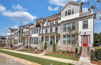 Alpharetta Condo/Townhouse For Sale: 368 Concord St #50