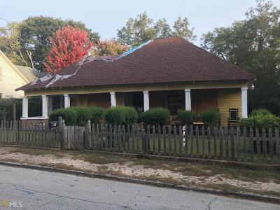 Reynoldstown Single Family Home For Sale: 1008 Kirkwood Ave