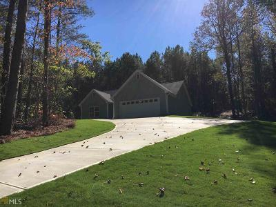 Loganville Single Family Home Under Contract: 5420 Center Hill Church Rd