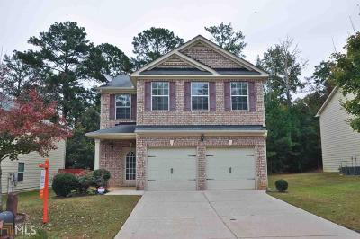 Lithonia Single Family Home Under Contract: 3456 Stoneleigh Walk
