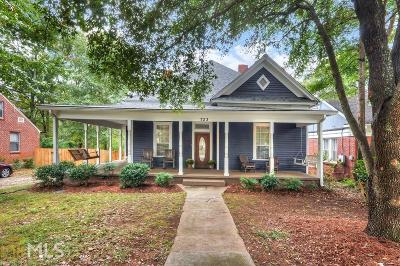 Decatur Single Family Home Under Contract: 723 3rd Ave