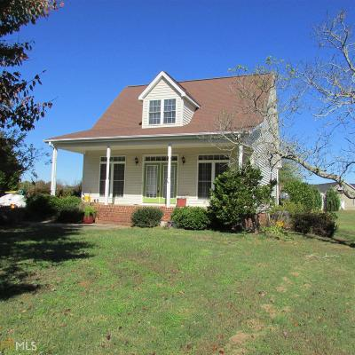 Hartwell Single Family Home For Sale: 370 Memorial Rd