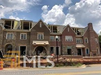 Alpharetta Condo/Townhouse Under Contract: 51 Church St #11
