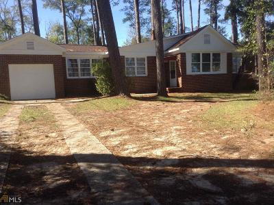 Haddock, Milledgeville, Sparta Single Family Home For Sale: 1610 Pine Valley Rd