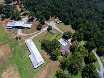 Winder Single Family Home For Sale: 277 Carl Cedar Hill Rd