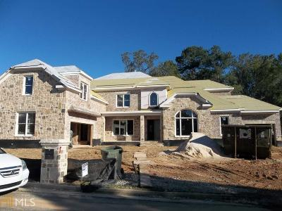 Marietta, Roswell Single Family Home For Sale: 2833 Stone Hall Dr