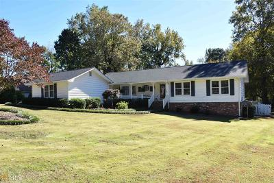 Conyers Single Family Home Under Contract: 587 Clubhouse Dr