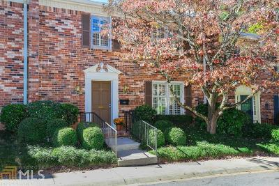 Decatur Condo/Townhouse For Sale: 1484 Leafview Rd