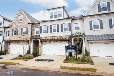 Roswell Condo/Townhouse For Sale: 4456 Huffman Dr