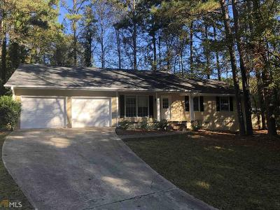 Peachtree City Single Family Home Under Contract: 117 Saddlebrook Dr