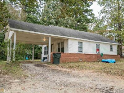 Habersham County Single Family Home Under Contract: 1885 Robertson Loop Rd