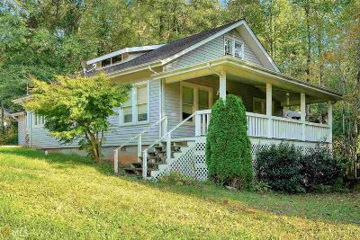 Clarkesville Single Family Home Under Contract: 124 Mockingbird Ln