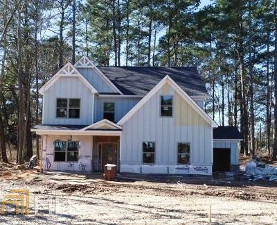 Lawrenceville Single Family Home For Sale: 885 Camp Perrin Rd