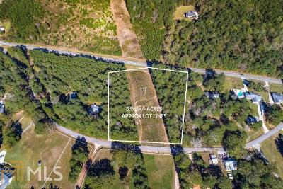 Dacula Residential Lots & Land For Sale: Wages Cir #1-A