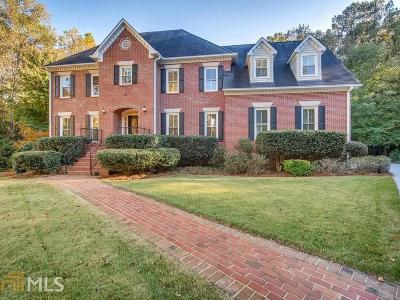 Marietta Single Family Home Under Contract: 802 Old Paper Mill Dr