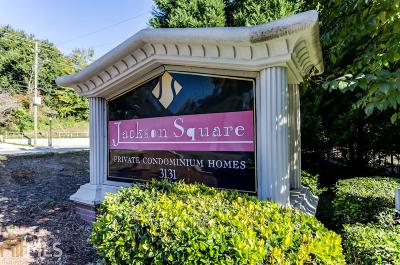 Brookhaven Condo/Townhouse For Sale: 3153 Buford Highway #3