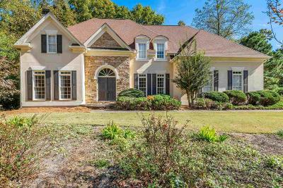 Suwanee Single Family Home For Sale: 5305 Overbend Trl