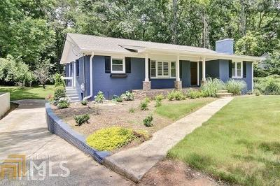 Historic Marietta Single Family Home For Sale: 518 Whitlock Ave