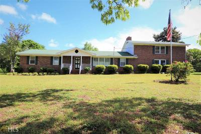 Elbert County, Franklin County, Hart County Single Family Home Under Contract: 3108 Deep Creek Rd