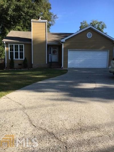 Winder Single Family Home For Sale: 225 North Woodlawn Ave