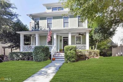 Grant Park Single Family Home Under Contract: 953 Grant St