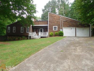 Acworth Single Family Home Under Contract: 3739 Summit Dr