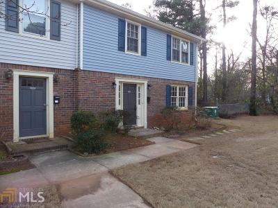 Tucker Condo/Townhouse For Sale: 2508 Lehaven Dr