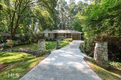 Brookhaven Single Family Home Under Contract: 2222 Drew Valley