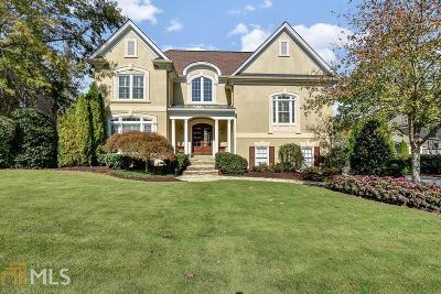 Marietta Single Family Home For Sale: 2295 Edgemere Lake Cir
