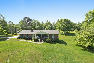 Cherokee County Single Family Home For Sale: 10208 Cumming Highway