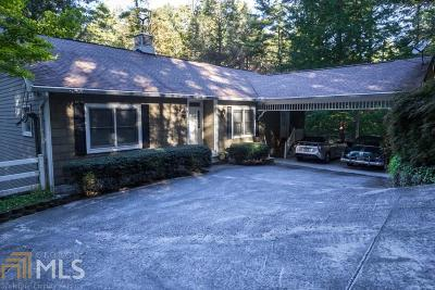 Rabun County Single Family Home For Sale: 4896 Highway 441 S