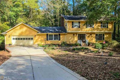 Peachtree City Single Family Home Under Contract: 205 Creek Bed Ct